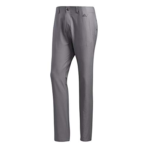 adidas Golf Ultimate 3-stripe Tapered Pant, Grey Three, 3230