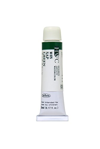 Holbein Artists' Watercolors - Sap Green - 5ml (Holbein Tube)