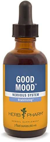 Herb Pharm Good Mood Liquid Herbal Formula with St. John's Wort for Healthy Emotional Balance - 2 Ounce
