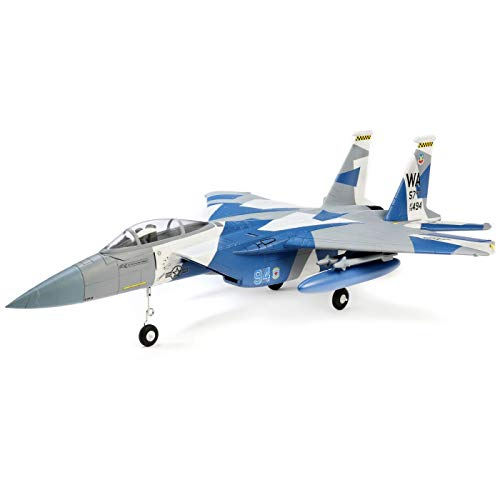 E-flite F-15 Eagle 64mm EDF BNF Basic with AS3X and Safe Select, EFL9750 (Rtf Rc Jet)