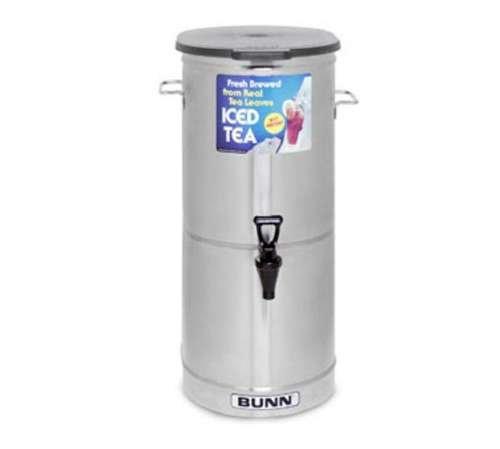 Iced Tdo Tea Dispenser 4 (Bunn Ice Tea Dispenser Tdo-4 - 4 Gallon - Brew Through Lid - 34100-0002)