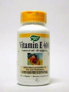Nature's Way - Vitamin E 400 Nat. D-Alpha, 400 IU, 100 softgels, 6 pack ()
