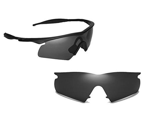 Best SEEK OPTICS Replacement Lenses Oakley M FRAME HYBRID - Polarized - Lenses For M Frame Oakley Sale