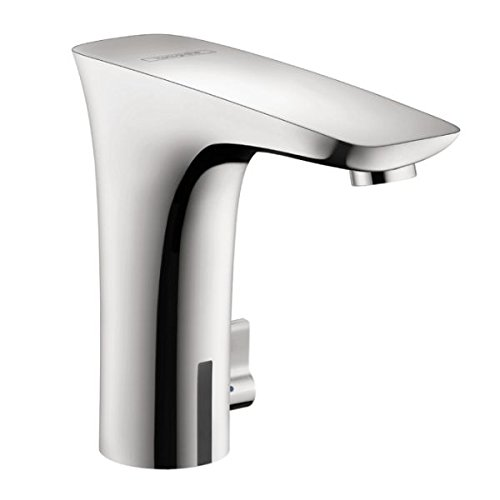 Hansgrohe 15170001 PuraVida Electronic Faucet with Temp Control, Chrome by Hansgrohe
