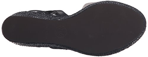 Coclico Womens Rose Wedge Sandal Apache Lead/Ringo Black/W Black lcH0Xf
