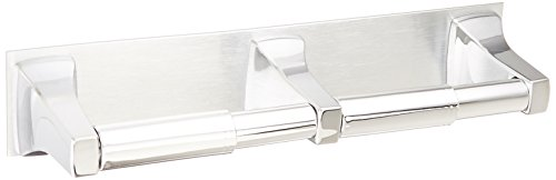 Moen R5580 Commercial Double Roll Toilet Paper Holder, Chrome (Double Toilet Paper)