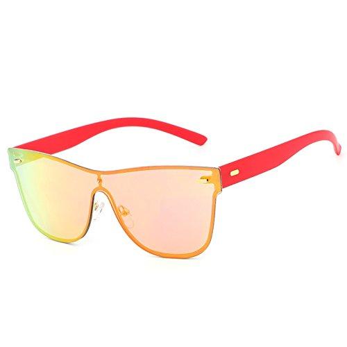 Ruanyi Occhiali da vista Donna Uomo Rivestimento Specchio Occhiali da sole vintage Rivestimento Specchietto Occhiali da vista Femmina UV400 ( Colore : Green ) iyZU9w