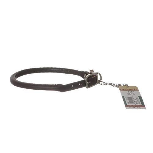 Circle T Latigo Leather Round Collar - 12 Long x 3/8 Wide (4 Pack) ()