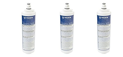 Moen 9601 ChoiceFlo Replacement Water Filter Compatible with Moen Sip Filtered Kitchen Faucets (3-(Pack)) by Unknown