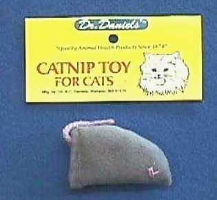 Grey Catnip Mouse, My Pet Supplies