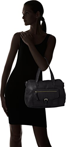 Nero Black Noos Bag PIECES polso da Pcabby Leather Borsette Donna wxSnz87q