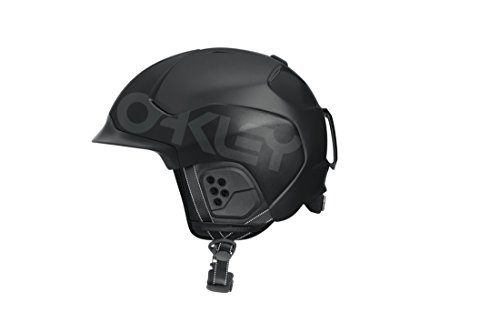 Oakley Mod5 Factory Pilot Snow Helmet, Matte Black, Medium (Oakley Piloten)