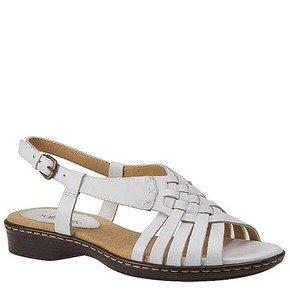softspots Women's White Leather Harper 10 C US