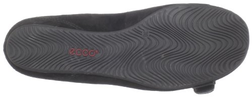 Ecco Donna Casual Bouillon Fibbia Slip On Nero / Nero