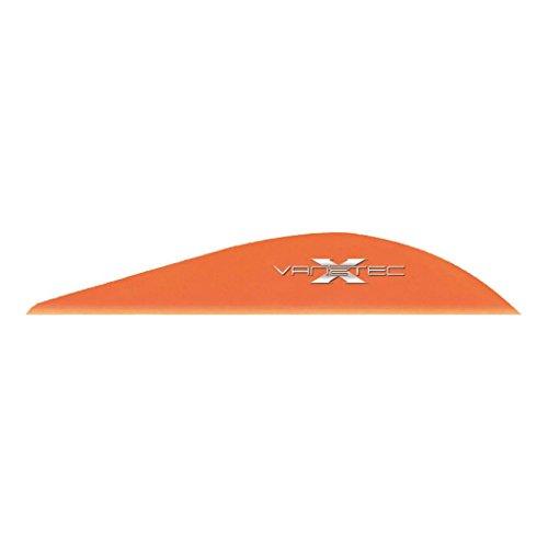 (Vanetec Super Spine Vane Flo Orange 2.3 in. 100 Pk)