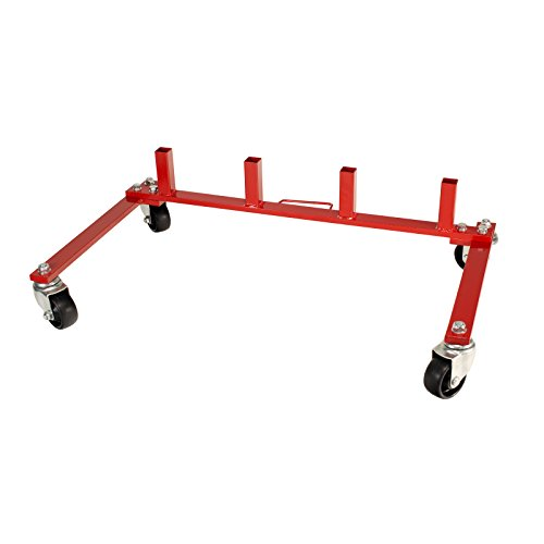 Dragway Tools Wheel Dolly Storage Stand for 9in. or 12in. Vehicle Positioning Jacks
