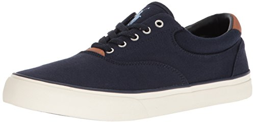 Polo Ralph Lauren Men's Thorton II Sneaker, Aviator Navy, 11 D US