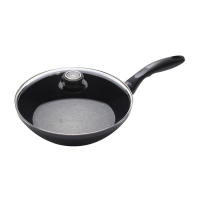 Swiss Diamond EDGE Non-Stick Frying Pan with Lid Size: 11...