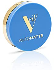 Veil Cosmetics Automatte Mattifying Balm for Poreless Face Makeup Primer, Touch-Up, Paraben Free