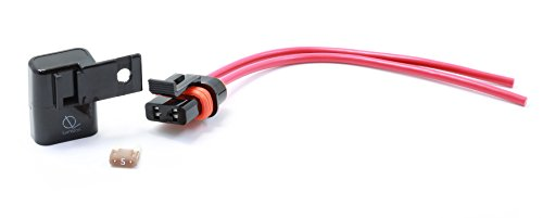 Lumision Weather Proof Water Proof Mini APM ATM Fuse Holder with 5 AMP Fuse Automotive Boat RV