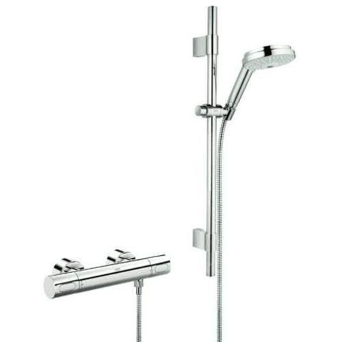 Thermostatic Shower Mixer Set - 7