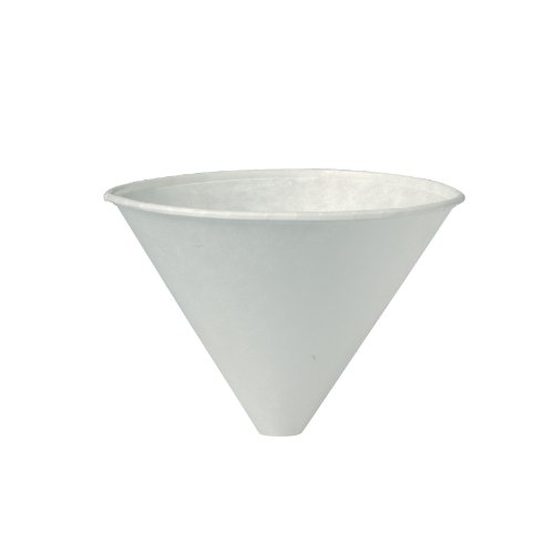 Solo 6SRX-2050 6 oz White Paper Cone Cups (Case of 2500) by Solo Foodservice (Image #1)