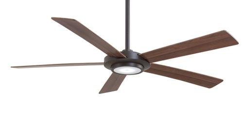 Minka-Aire F745-ORB Sabot Oil-Rubbed Bronze 52 Ceiling Fan with Light Remote Control
