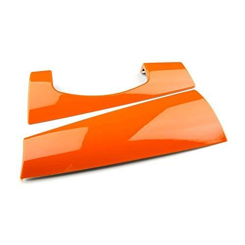 Jcw Mini Cooper - LVBAO Interior Dashboard Panel Cover Cap Case for Mini Cooper ONE S JCW F Series F55 Hardtop F56 Hatchback (Orange)
