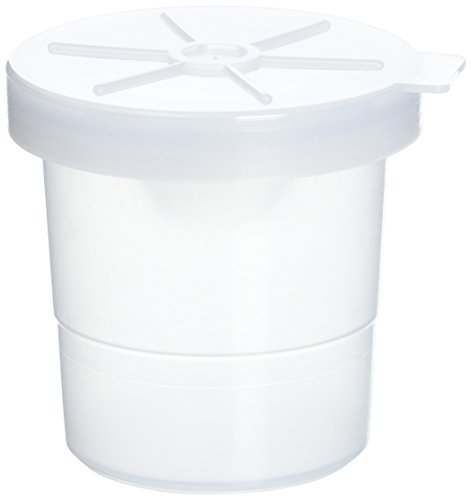 School Smart No-Spill Paint Cups with Translucent Lids - 3 1/2 - Pack of 10