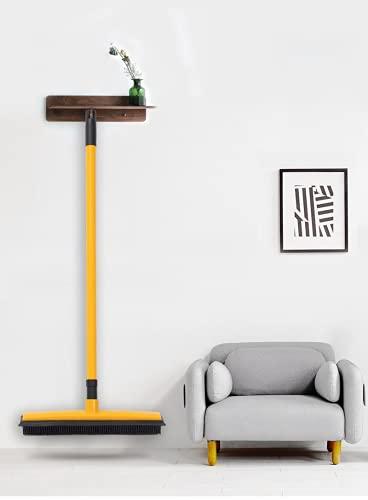Bezem in de tuin, tuin borstel, kunstgras borstel, Rubber bezem tuin Bezem Floor schoonmaken bezem met lange verstelbare…
