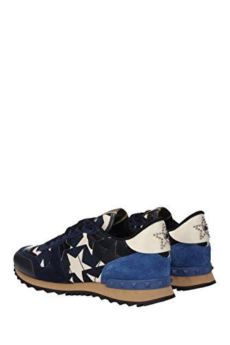Valentino Garavani Sneakers Herren - Stoff (2s0723anc) Eu Blau