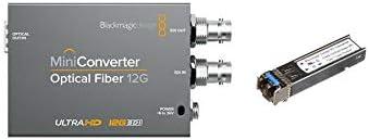 Amazon Com Blackmagic Deisgn Mini Converter Optical Fiber 12g Bundle With 12g Bd Sfp Optical Module Adapter Home Audio Theater