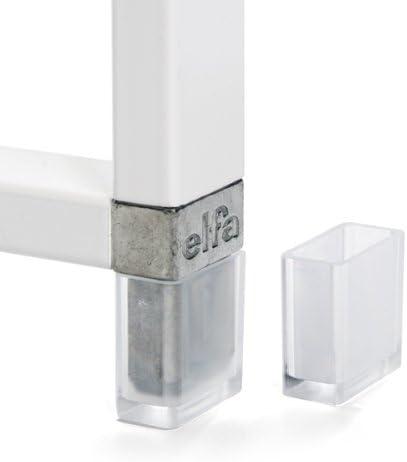 elfa 222730 - Patas de Escalera de Cesta, Transparente, 2 x 2 x 1 [cm]: Amazon.es: Hogar