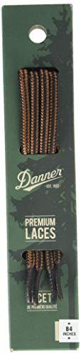 "Danner Laces 84"" Shoelaces, Black/Tan, Universal Regular US"