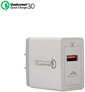 and More Samsung Galaxy S Series OneNorth Fast USB Wall Charger for iPhone Xs//XS Max//XR//X//8//7//6//Plus Note Series iPad Pro//Air 2//Mini 3//Mini 4