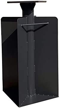 PURPLE LEAF Offset Patio Umbrella Base In Ground, 21.65 H X 15.75 W X 15.75 D