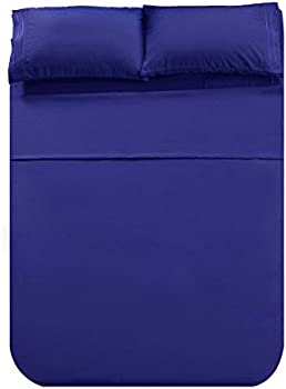 Honeymoon 1800 Brushed Microfiber Embroidered Bed Sheet Set