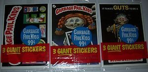 Garbage Pail Kids Giant Sticker Cards 1986 Unopened Packs