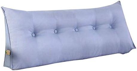 トライアングルナイトバッグ、枕ポジショニングサポート、クッションクッション、洗えるリムーバブル、4色、サイズ7(色:青、サイズ:200 cm)