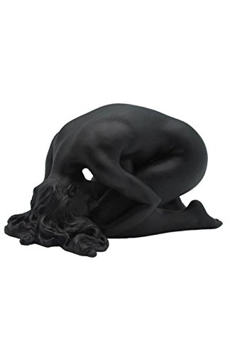 5.75 Inch Figure Female Nude Kneeling Head on Floor Display Decor