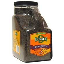 Durkee Black Pepper, Whole, 6-Pound by Durkee