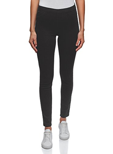 Black Ultra oodji Jeggings Women's 2900w Basic wF4y1v8q