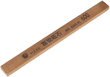 uxcell 油砥石 オイルストーン アブレシブ砥石 仕上げ砥石 両面砥石 研磨用具 600# ブラウン