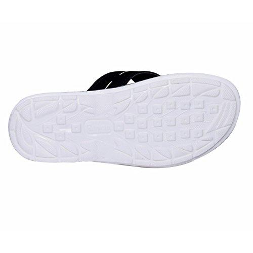 Slipper Sandal Leathher Boy House PU And IndiWeaves Flip Flop White Red qxwE8Y