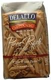 Delallo Organic Penne Rigate Pasta No.36 -- 1 lb