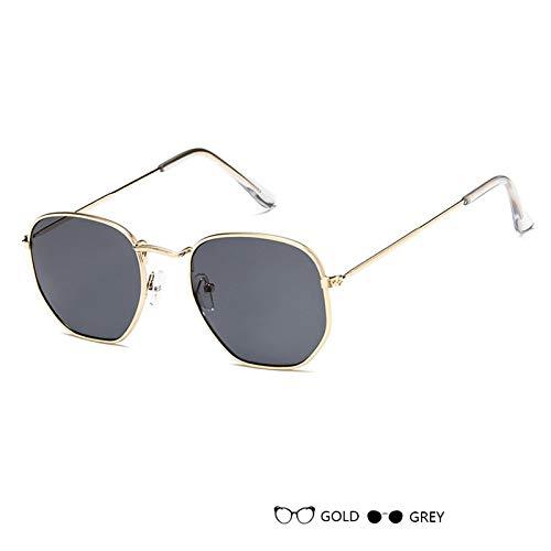 Metal de de Lujo de la Espejo del del Retro los UV400 Vendimia Sol Gafas F Gafas Sol los de Gafas Las Sol E de Señora Aprigy Hombres de de vidrios wE7qZIF