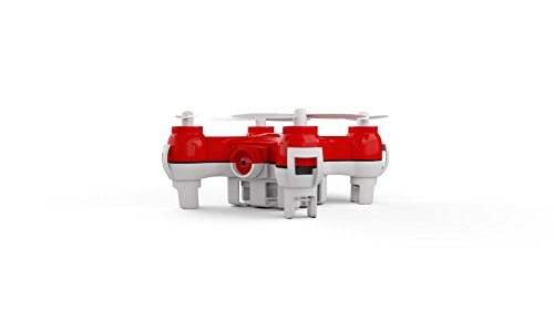 MOTA JETJAT Nano Camera Video Drone with 4-Channel Controller, Red -