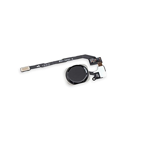 ThePerfectPart Original Black Touch ID Sensor Home Button Module Ribbon with Key Flex Cable Replacement Part for iPhone 5S SE (Touch Part)