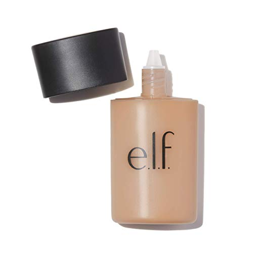 e.l.f. Cosmetics Acne Fighting Foundation, Full Coverage Foundation that Fights Blemishes, Buff, 1.0 Fluid Ounces