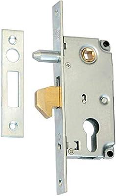 Cerradura Cerradura de gancho 72/30 Puerta Corredera Cerradura con guía Dorn: Amazon.es: Bricolaje y herramientas